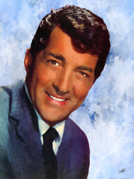 Painting - Dean Martin 02 by Dean Wittle