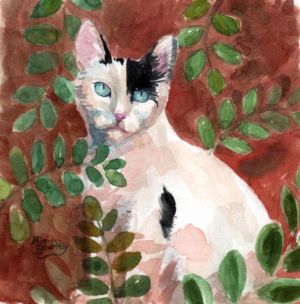Painting - Deano In The Brush by Mimi Boothby