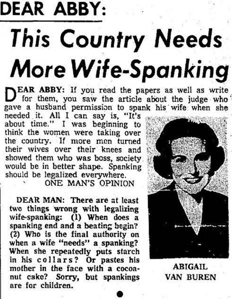 Digital Art - Dear Abby Country Needs More Wife Spanking by Reinvintaged