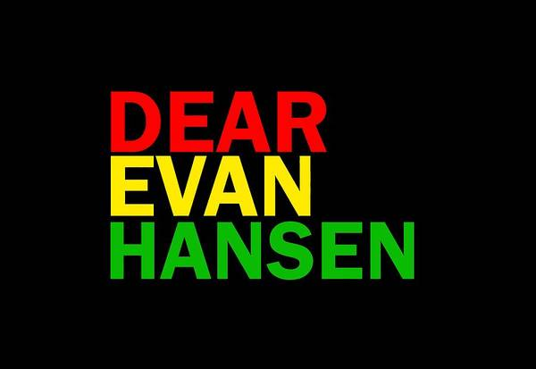 New Trend Digital Art - Dear Evan Hansen by Gina Anjani