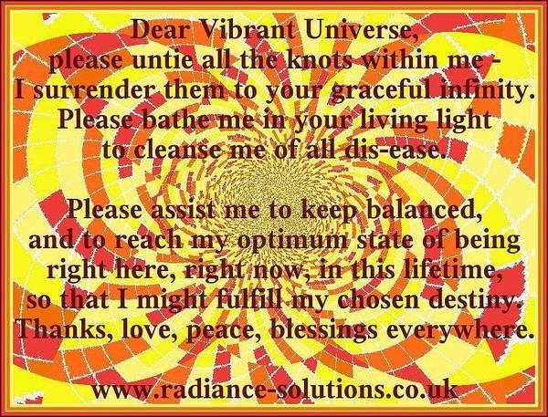 Digital Art - Dear Vibrant Universe by Julia Woodman
