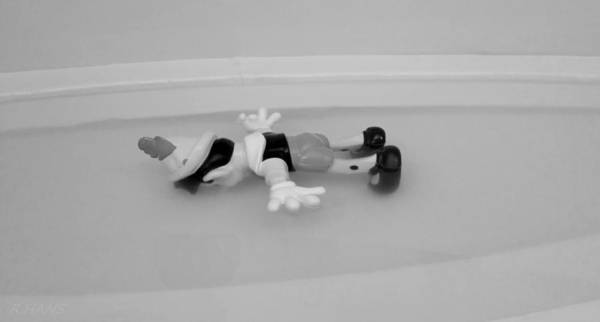 Photograph - Death At The Guggenheim B G 1 by Rob Hans
