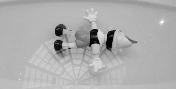Photograph - Death At The Guggenheim B G by Rob Hans