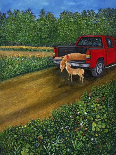 Painting - Death At The Refuge by Karen Zuk Rosenblatt