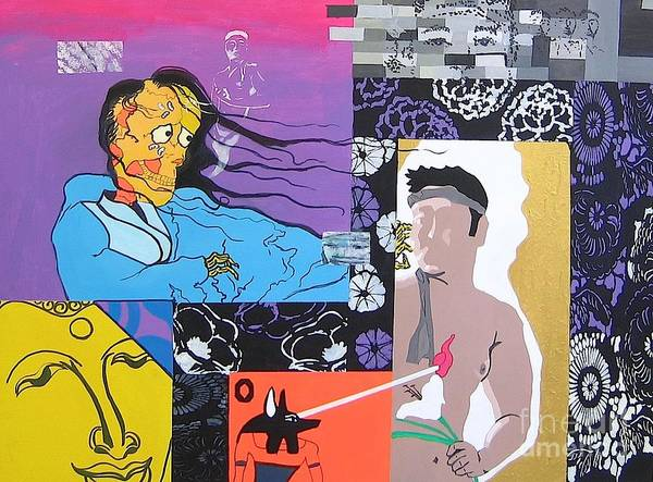 Wall Art - Painting - Death Of An Artist by Takayuki  Shimada