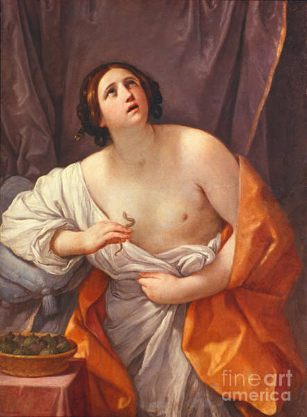 Photograph - Death Of Cleopatra by Granger