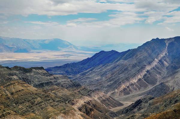 Photograph - Death Valley Aguereberry Point Landscape by Kyle Hanson