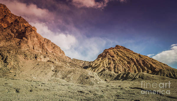 Photograph - Death Valley Artist's Drive #2 by Blake Webster