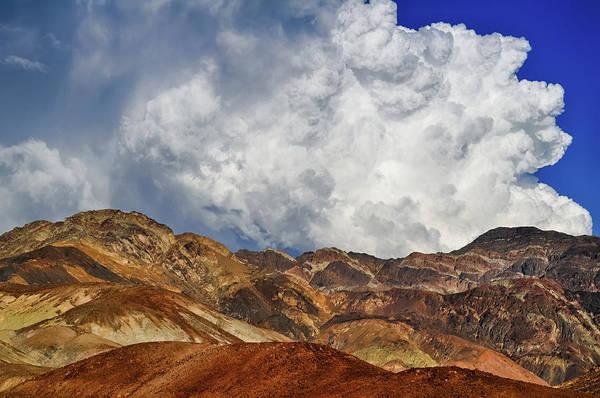 Photograph - Death Valley Artist's Drive Landscape by Kyle Hanson