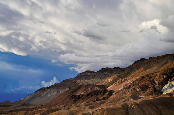 Photograph - Death Valley Artist's Drive Storm by Kyle Hanson