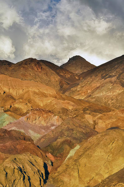 Photograph - Death Valley Artist's Palette Portrait by Kyle Hanson