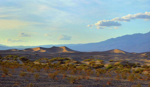 Furnace Creek Photograph - Death Valley At Sunset by Gordon Beck