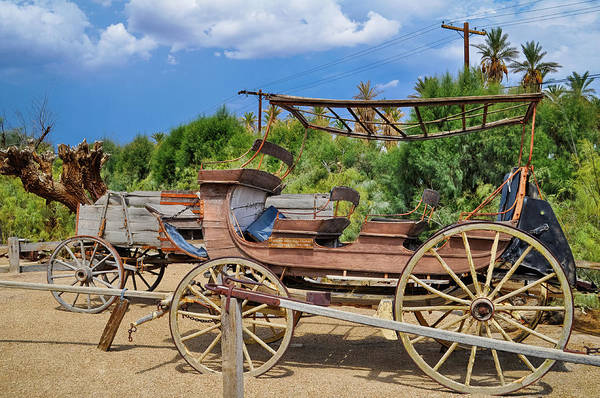 Photograph - Death Valley Borax Wagon by Kyle Hanson