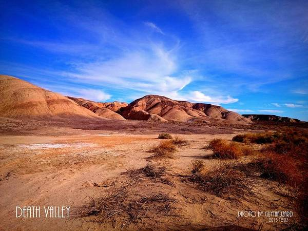 Photograph - Death Valley California by Guy Hoffman