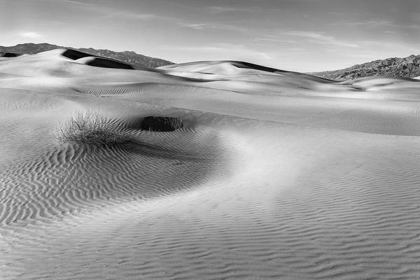 Photograph - Death Valley Contours by Jon Glaser