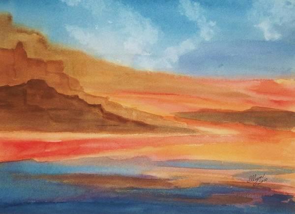 Death Valley Painting - Death Valley by Ellen Levinson