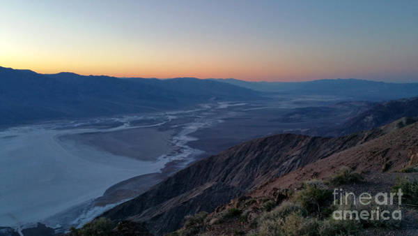 Painting - Death Valley From Dante Peak by Gregory Dyer