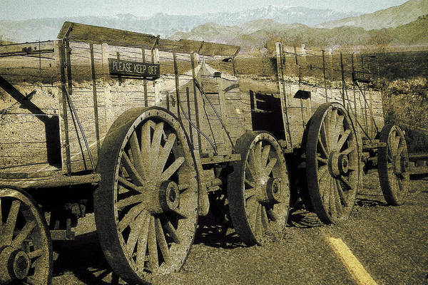 Photograph - Death Valley Ghosts by Peter Potter