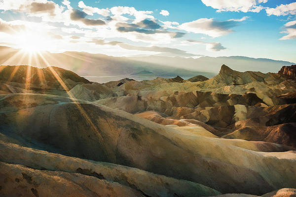 Death Valley Painting - Death Valley Inyo County California by Elaine Plesser