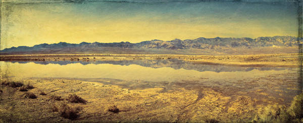 Photograph - Death Valley Lake by Rick Wicker