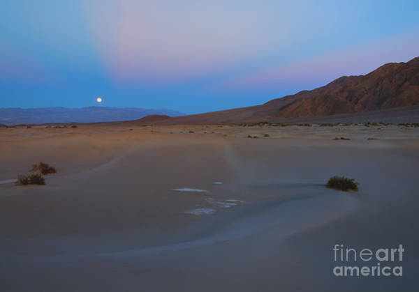 Moonrise Photograph - Death Valley Moonrise by Mike Dawson