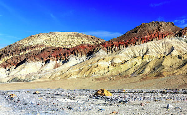 Photograph - Death Valley Mountain Colors by John Rizzuto