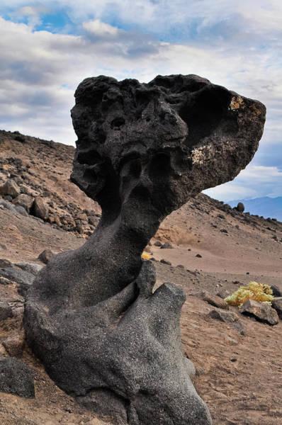Photograph - Death Valley Mushroom Rock by Kyle Hanson