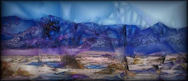 Digital Art - Death Valley Plains by Jon Glaser