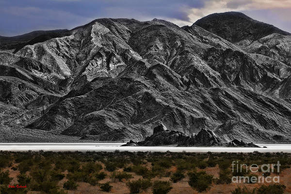 Photograph - Death Valley Race Track by Blake Richards