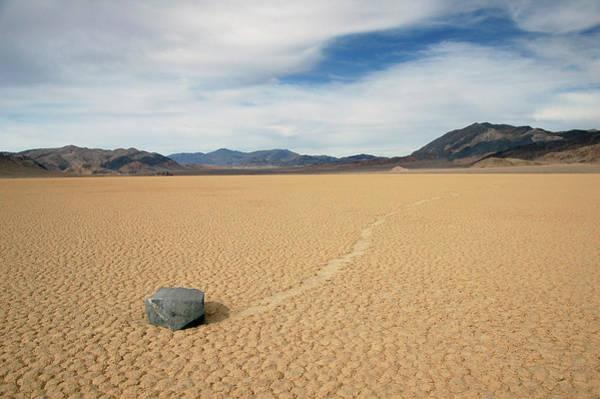 Death Valley Ractrack Art Print