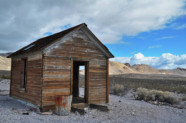 Photograph - Death Valley Rhyolite House by Kyle Hanson