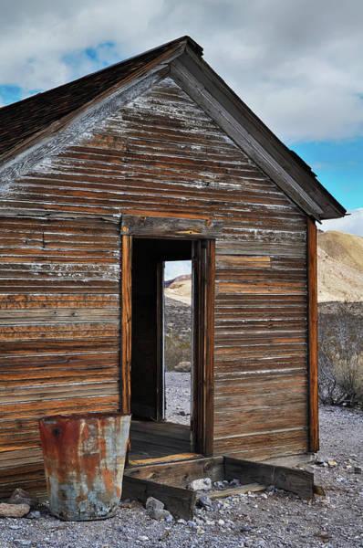 Photograph - Death Valley Rhyolite House Portrait by Kyle Hanson