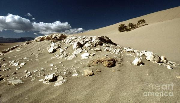 Photograph - Death Valley Rocky Dunes by Norman Andrus
