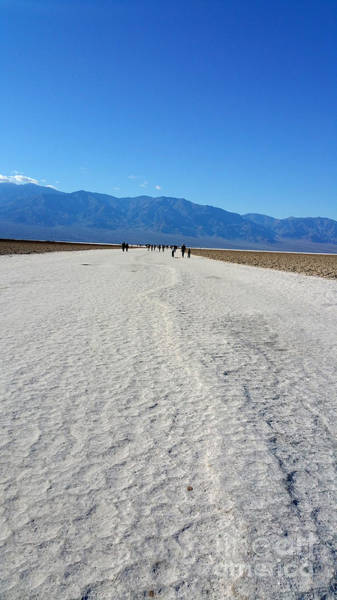 Photograph - Death Valley Salt Flats by Gregory Dyer