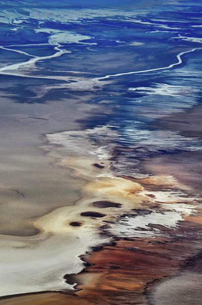 Photograph - Death Valley Salt Flats by Kyle Hanson