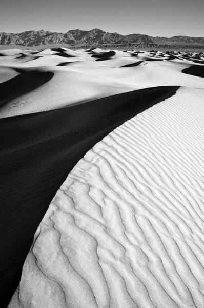 Photograph - Death Valley Sand Dunes by Mike Irwin