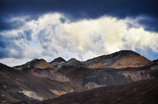 Photograph - Death Valley Storm Artist's Drive by Kyle Hanson