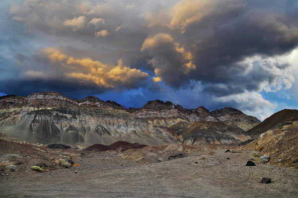 Photograph - Death Valley Sunset Storm by Kyle Hanson