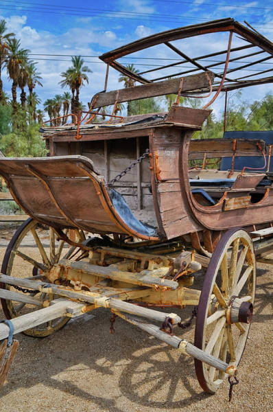 Photograph - Death Valley Wagon by Kyle Hanson