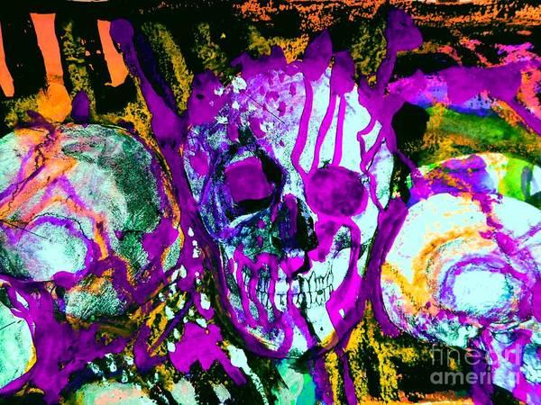 Painting - Deathstudy-1 by Katerina Stamatelos