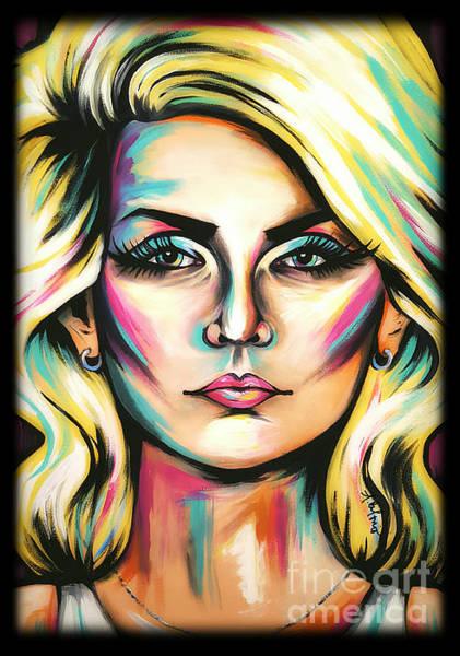 Blondie Wall Art - Painting - Debbie Harry by Amy Belonio
