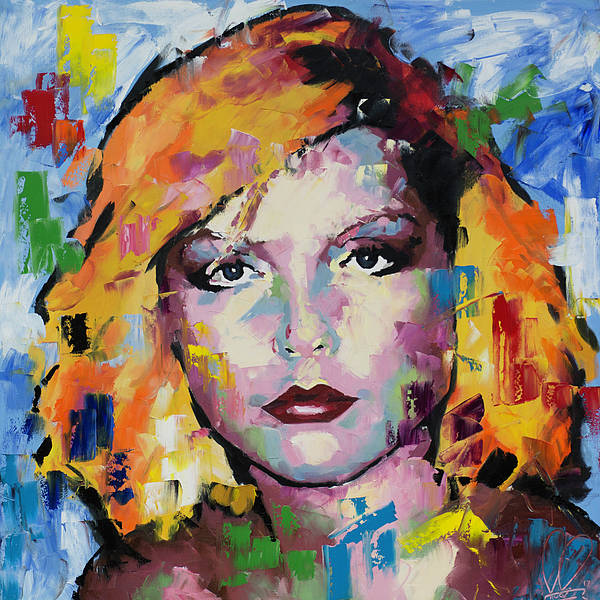 Wall Art - Painting - Debbie Harry by Richard Day