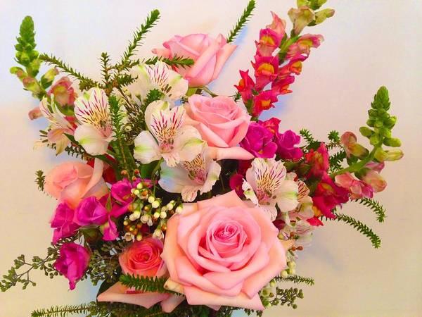 Photograph - Debi's Bouquet by Polly Castor