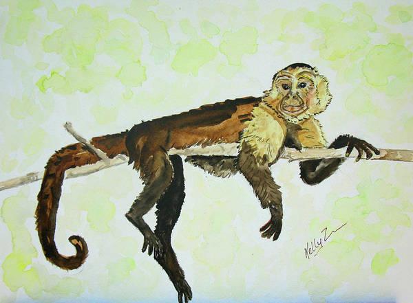 Mono Painting - Debonair by Kelly     ZumBerge