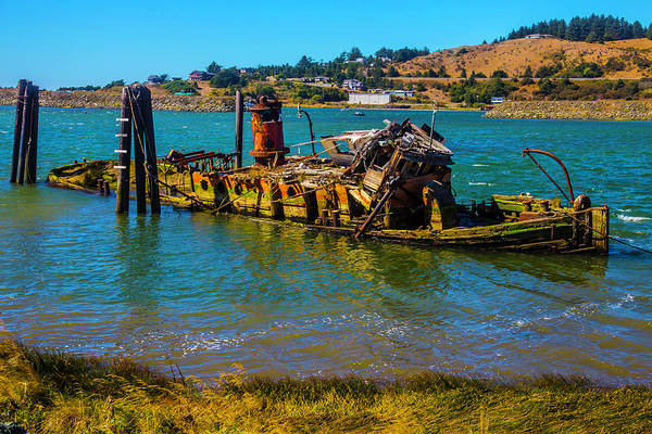 Rogue River Wall Art - Photograph - Decaying Mary D Hume by Garry Gay