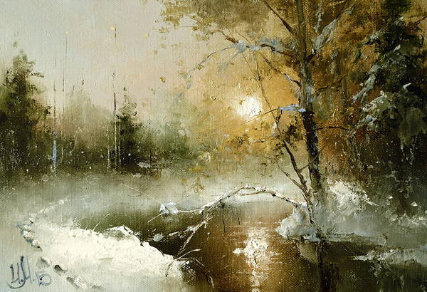 Painting - December 31 by Igor Medvedev