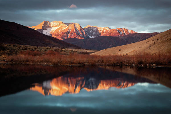 Wall Art - Photograph - December Glow On Timp. by Johnny Adolphson