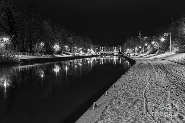 Black Ice Photograph - December Morning by Veikko Suikkanen