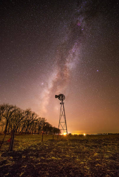 Milky Way Wall Art - Photograph - December Night  by Aaron J Groen
