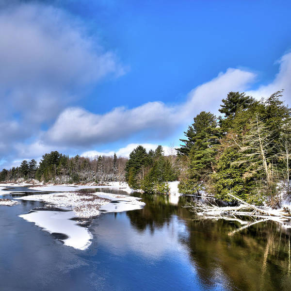 Photograph - December Snow In Old Forge by David Patterson